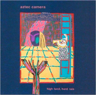 Aztec Camera - High Land, Hard Rain (LP) (G-VG/G-)